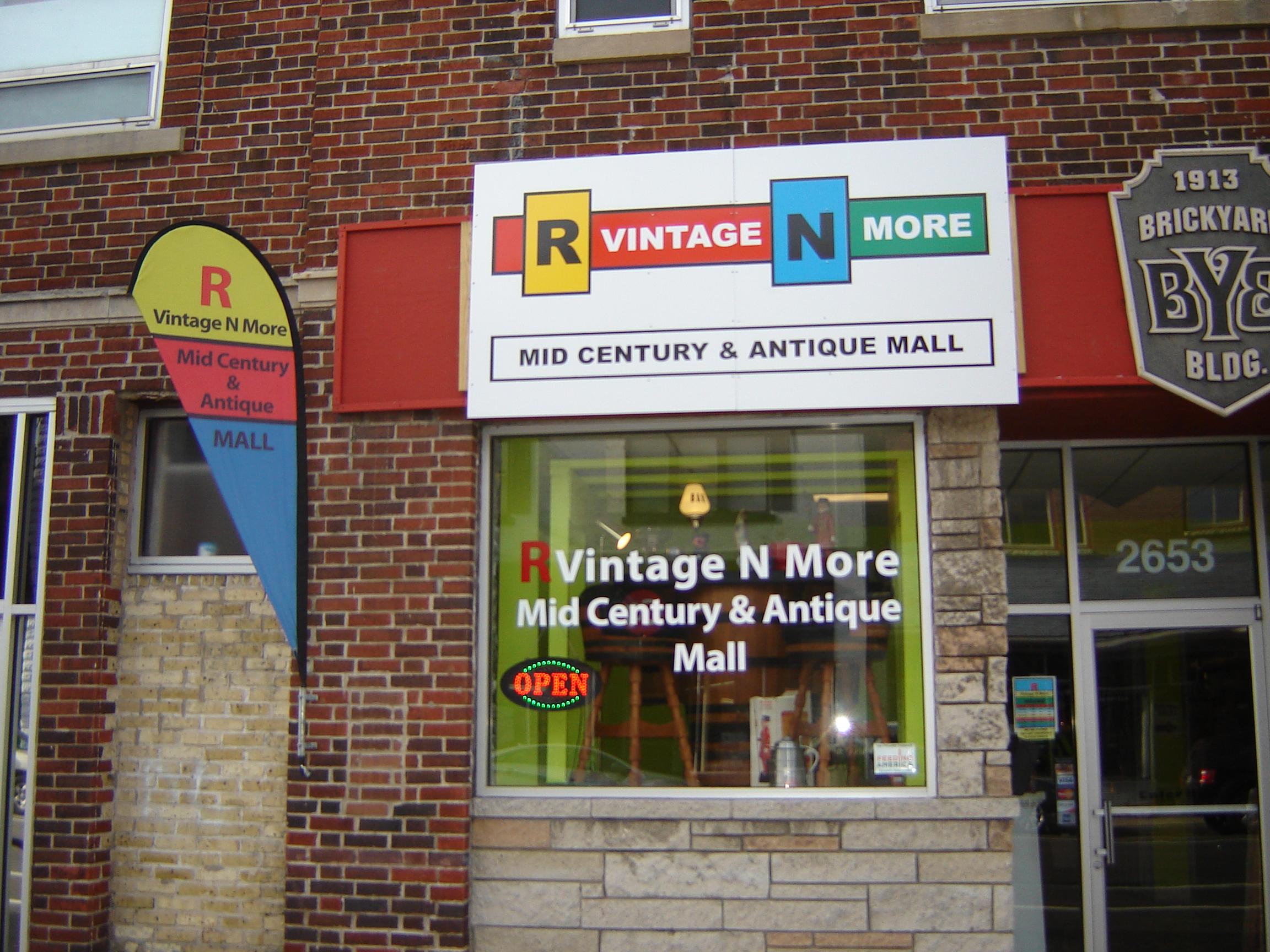 R Vintage N More, LLC   Mid Century U0026 Antique Mall Milwaukee
