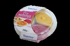 Hummus Trio - Oriental, Curry, Beetroot
