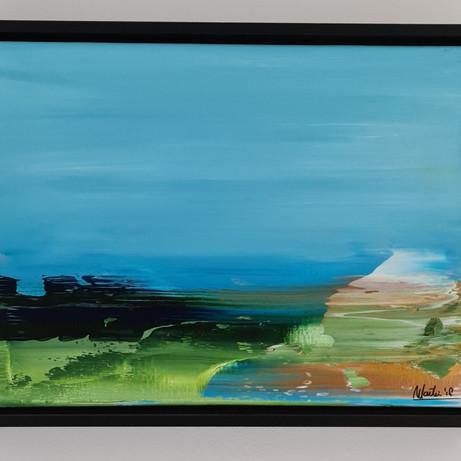 abstract 1 in baklijst, €125,00