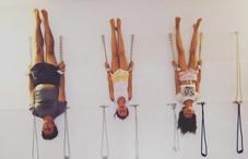Clase de Niños y familia, en Yoga Poblenou.