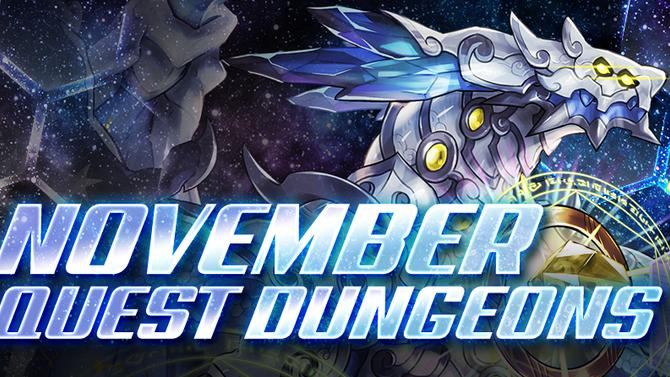 November Quest Dungeons