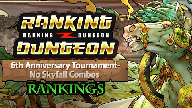 6th Anniversary Tournament-No Skyfall Combos Rankings