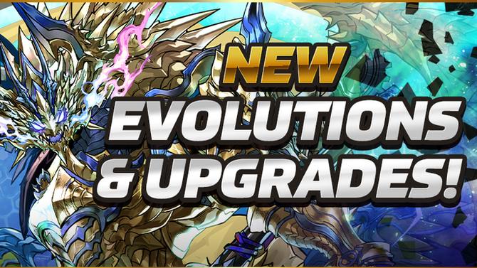 New Evolutions & Upgrades!