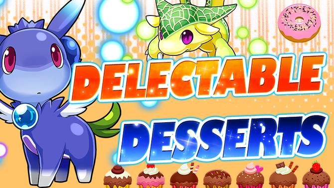 Delectable Desserts Event