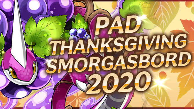 PAD Thanksgiving Smorgasbord 2020
