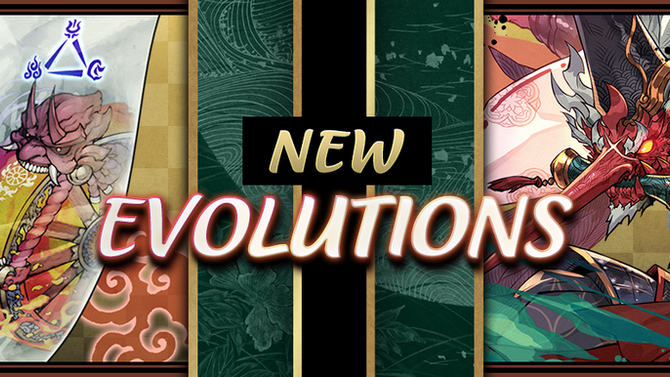 New Evolutions!