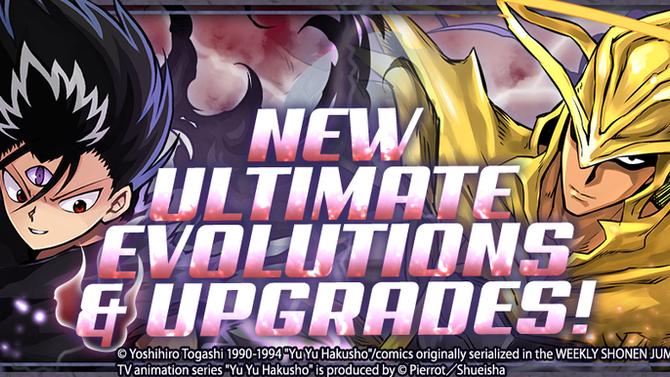New Ultimate Evolutions & Upgrades!