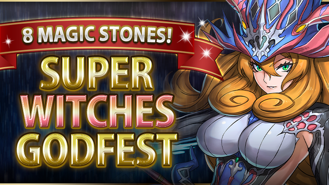 8 Magic Stones! Super Witches Godfest