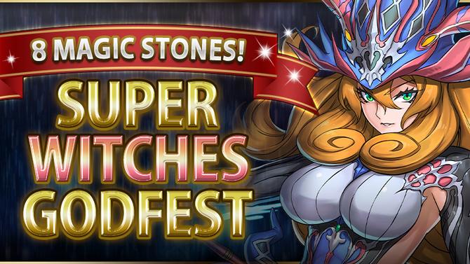 8 Magic Stones! Super Witches Godfest