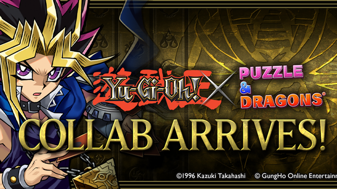 Yu-Gi-Oh! Duel Monsters Summoned to Puzzle & Dragons in New Collab