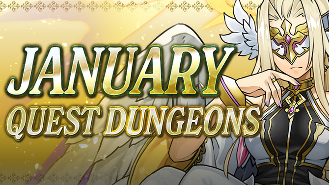 January Quest Dungeons
