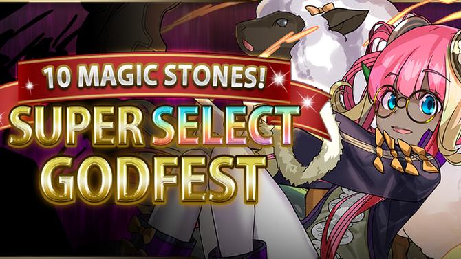 10 Magic Stones! Super Select Godfest