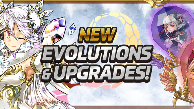 New Evolutions & Upgrades!