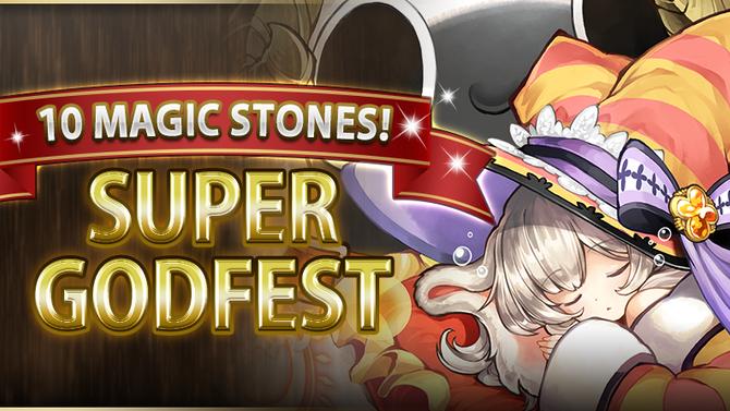 10 Magic Stones! Super Godfest