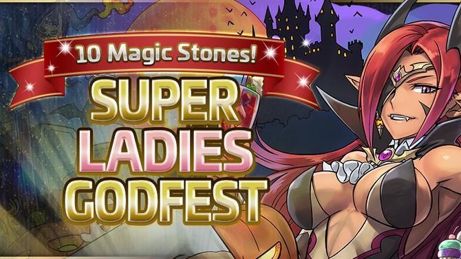 10 Magic Stones! Super Ladies Godfest