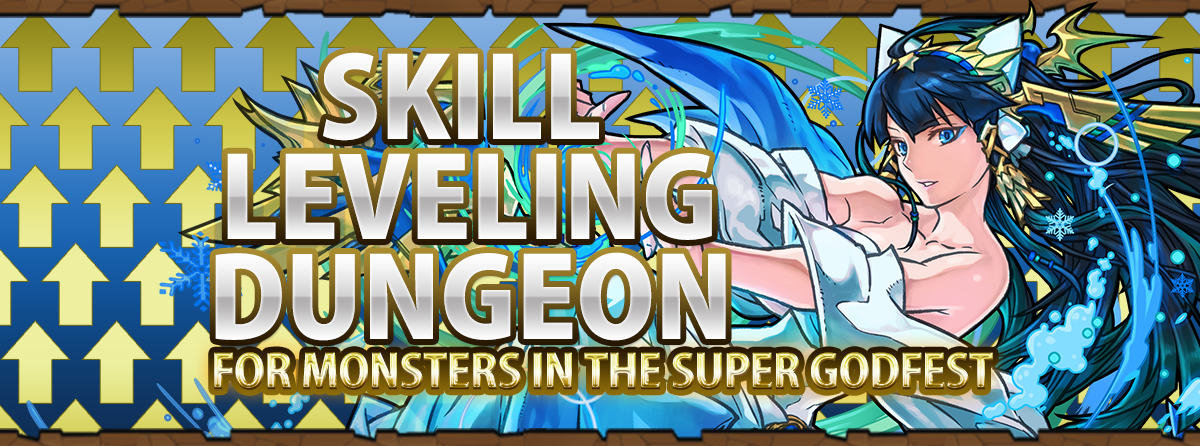 Skill Leveling Dungeon Arrives!