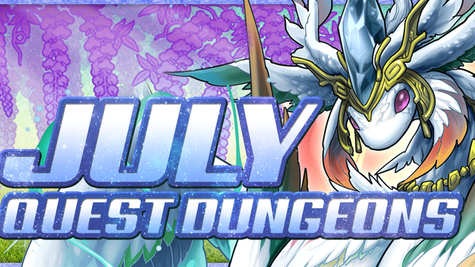 July Quest Dungeons