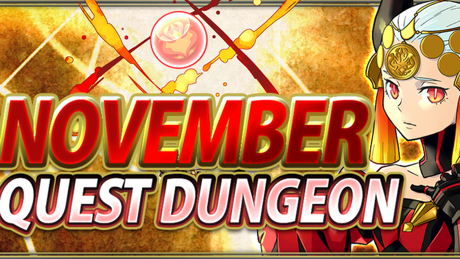 November Quest Dungeon