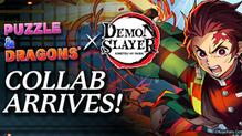 Demon Slayer: Kimetsu no Yaiba Cuts into Puzzle & Dragons as New Film Hits Theaters