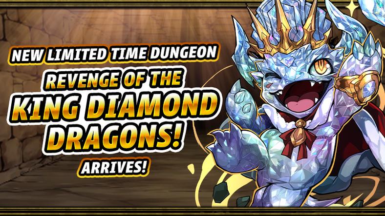 Revenge of the King Diamond Dragons! Arrives!