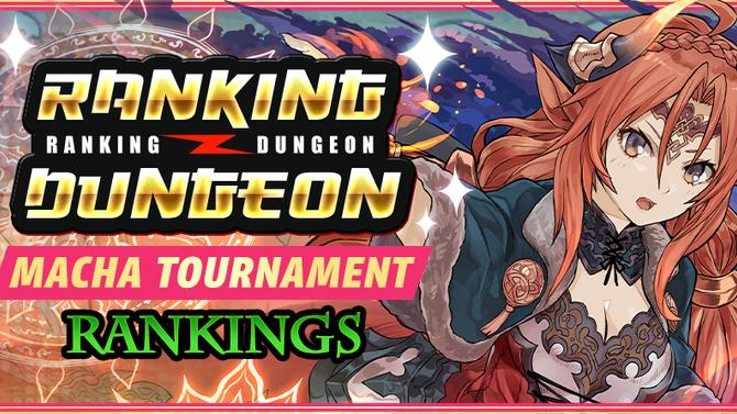 Macha Tournament Rankings