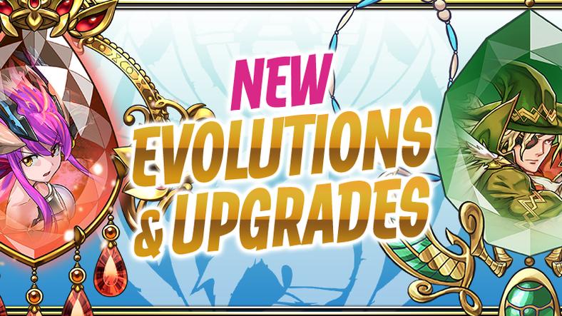 New Evolutions & Upgrades