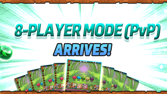 8-Player Mode (PvP) Arrives!