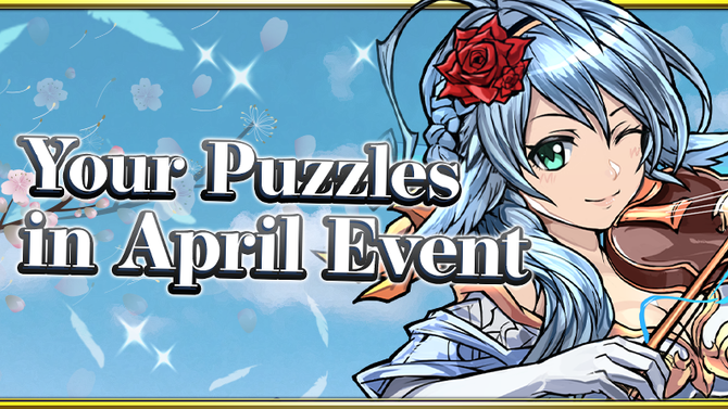 Your Puzzles in April Event