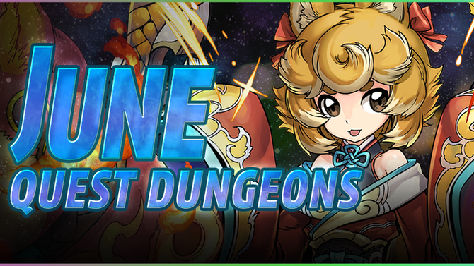 June Quest Dungeons