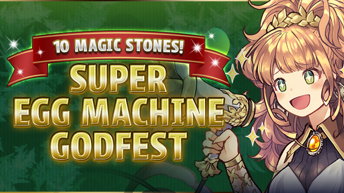 10 Magic Stones! Super Egg Machine Godfest!