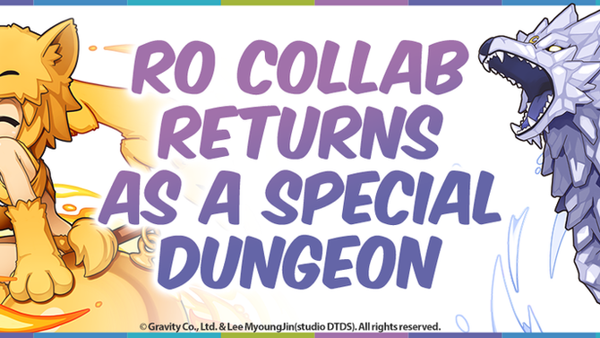 RO Collab Returns as a Special Dungeon!