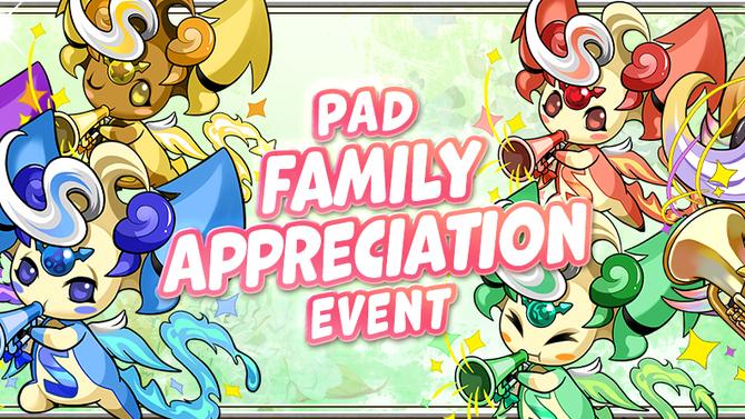 PAD Family Appreciation Event