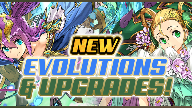 New Evolutions and Upgrades!