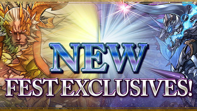 New Fest Exclusive Monsters