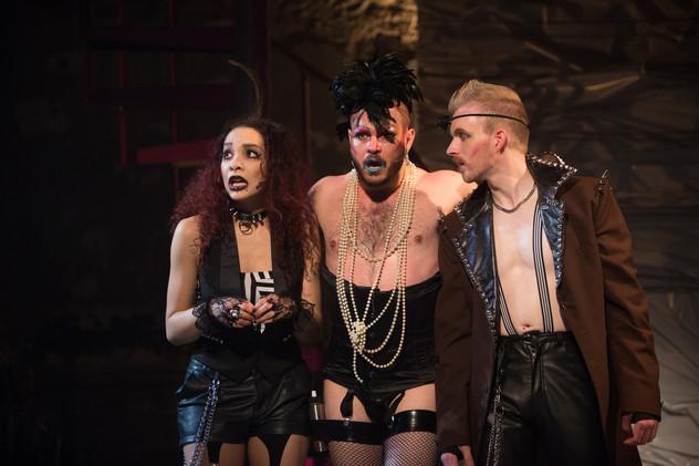 """Riff Raff """"The Rocky Horror Show"""" Studio Theatre 2013"""