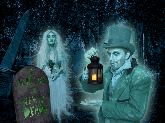 Costume and photo design for Halloween 2014
