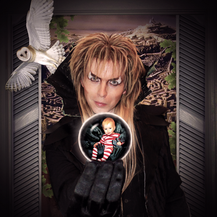 Labyrinth Costume and photo design with my son. 2017