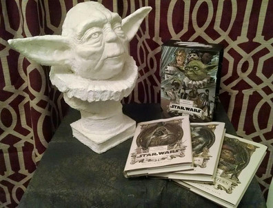 Classic bust of Master Yoda. One of the great thinkers. 2015