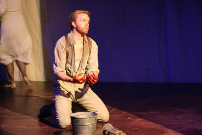 """Macbeth from the Shakespeare Theatre Company's Acting Fellows Program of """"Macbeth"""" 2012"""