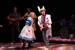 """The White Rabbit """"Wonderland: Alice's Rock and Roll Adventure"""" Imagination Stage 2017"""