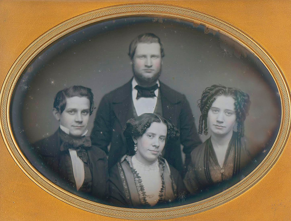 Three Siblings and a Spouse from the collection of Casey Waters