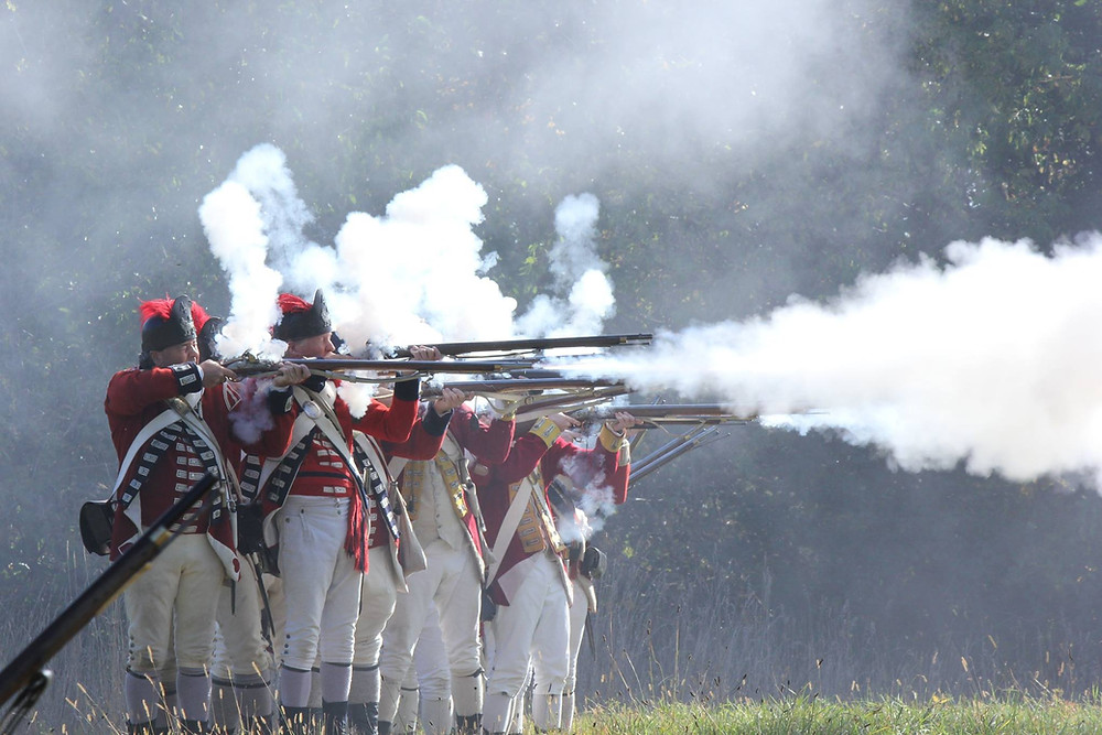 Redcoats & Rebels - Photo by Chris Pratt