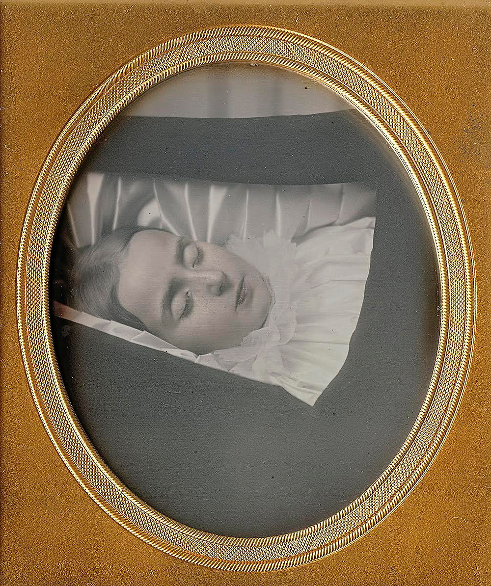 Postmortem Woman from the collection of Dennis Waters