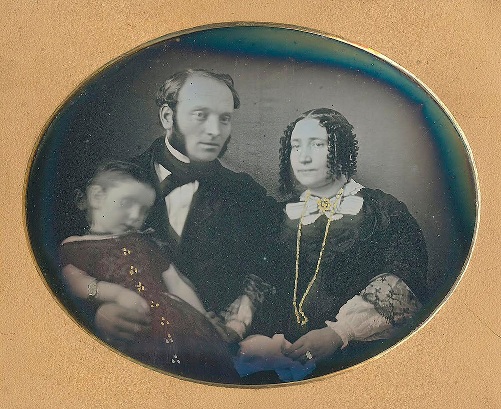 Family of Three from the collection of Erin Waters