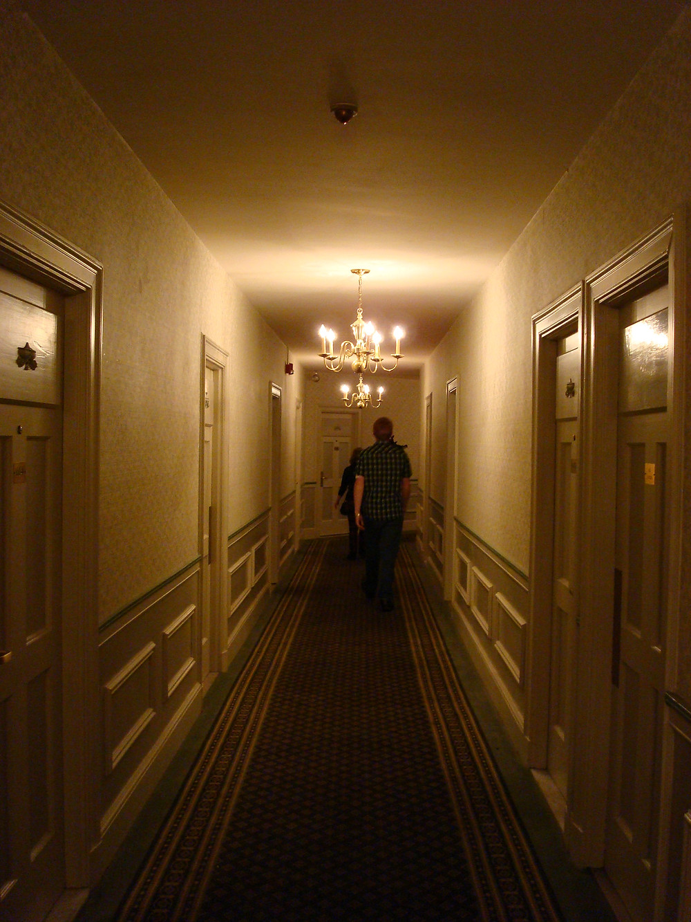 The haunted Hawthorne Hotel in Salem, MA