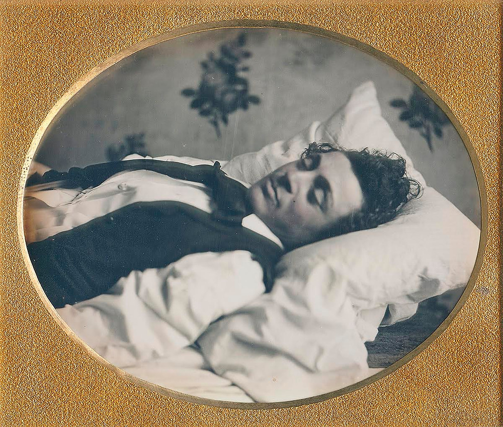Postmortem Daguerreotype from the collection of Linda Hose