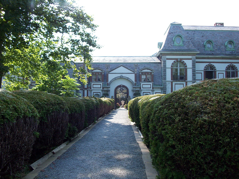 Mansion of mystery in Newport, RI