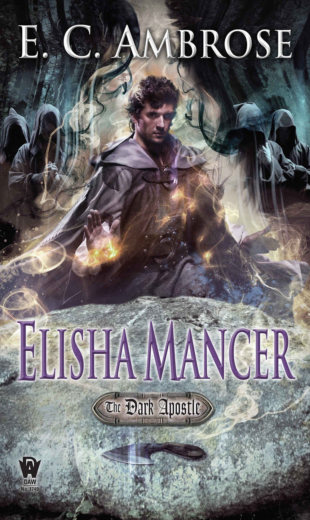 Elisha Mancer - The Dark Apostle by E.C. Ambrose