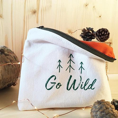 Go Wild Zip Pouch