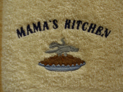 Custom Embroidery on Towels